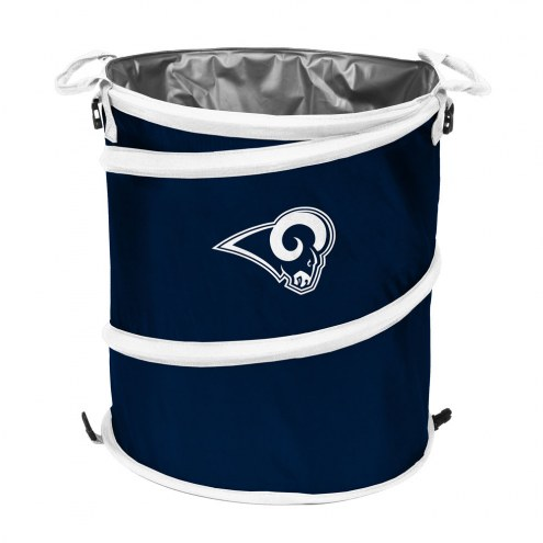 Los Angeles Rams Collapsible Laundry Hamper