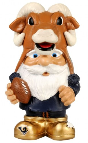 Los Angeles Rams Mad Hatter Garden Gnome