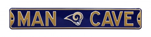 Los Angeles Rams Man Cave Street Sign