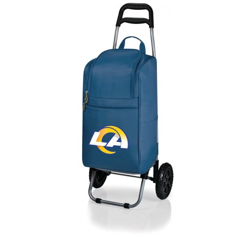 Los Angeles Rams Navy Cart Cooler