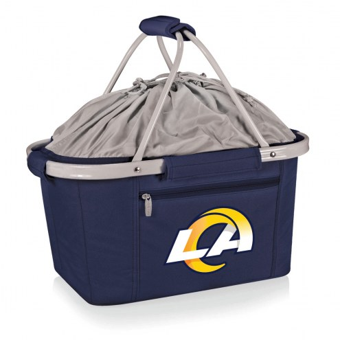 Los Angeles Rams Navy Metro Picnic Basket