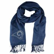 Los Angeles Rams Navy Pashi Fan Scarf