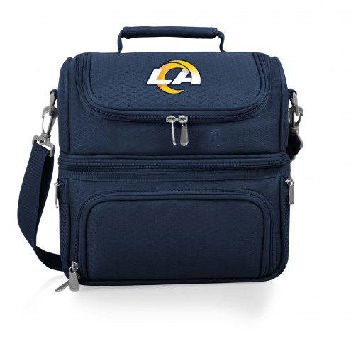 Los Angeles Rams Navy Pranzo Insulated Lunch Box