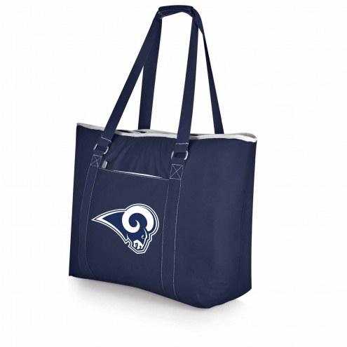 Los Angeles Rams Navy Tahoe Beach Bag