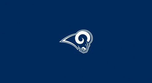 Los Angeles Rams NFL Team Logo Billiard Cloth