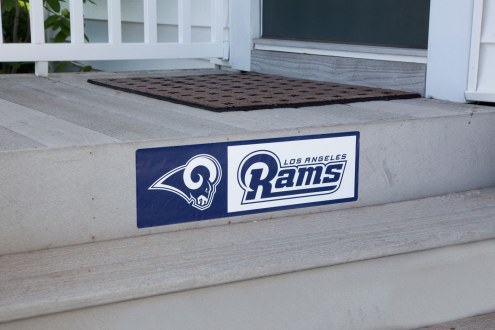 Los Angeles Rams Outdoor Step Graphic
