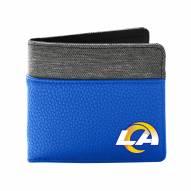 Los Angeles Rams Pebble Bi-Fold Wallet