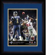 Los Angeles Rams Personalized 13 x 16 NFL Action QB Framed Print