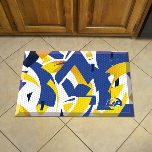 Los Angeles Rams Quicksnap Scraper Door Mat