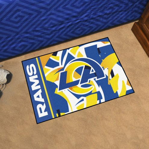Los Angeles Rams Quicksnap Starter Rug
