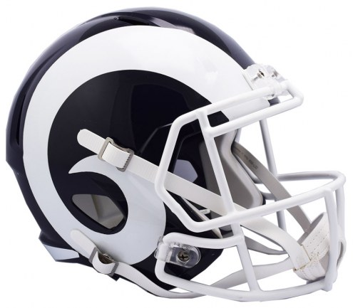 Los Angeles Rams Riddell Speed Collectible Football Helmet