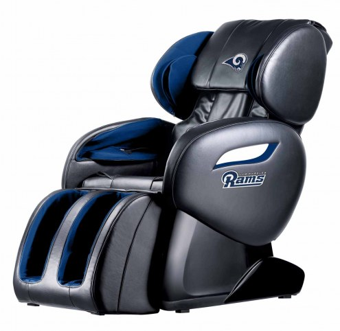 Los Angeles Rams Shiatsu Zero Gravity Massage Chair