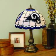 Los Angeles Rams Stained Glass Tiffany Table Lamp