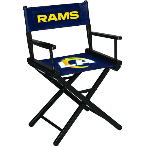 Los Angeles Rams Table Height Director's Chair