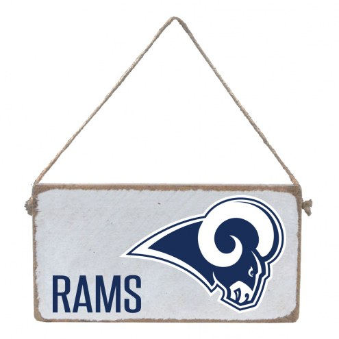 Los Angeles Rams Mini Plank