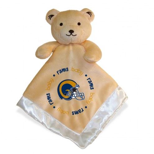 Los Angeles Rams Infant Bear Security Blanket