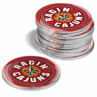 Louisiana Lafayette Ragin' Cajuns 12-Pack Golf Ball Markers