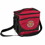 Louisiana Lafayette Ragin' Cajuns 24 Can Cooler