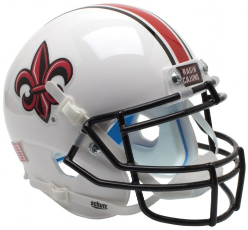 Louisiana Lafayette Ragin' Cajuns Alternate 2 Schutt Mini Football Helmet
