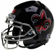 Louisiana Lafayette Ragin' Cajuns Alternate 3 Schutt Football Helmet Desk Caddy