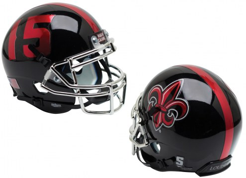 Louisiana Lafayette Ragin' Cajuns Alternate 3 Schutt Mini Football Helmet