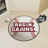 Louisiana Lafayette Ragin' Cajuns Baseball Rug