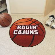 Louisiana Lafayette Ragin' Cajuns Basketball Mat