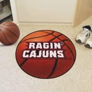 Louisiana Lafayette Ragin' Cajuns Basketball Mat