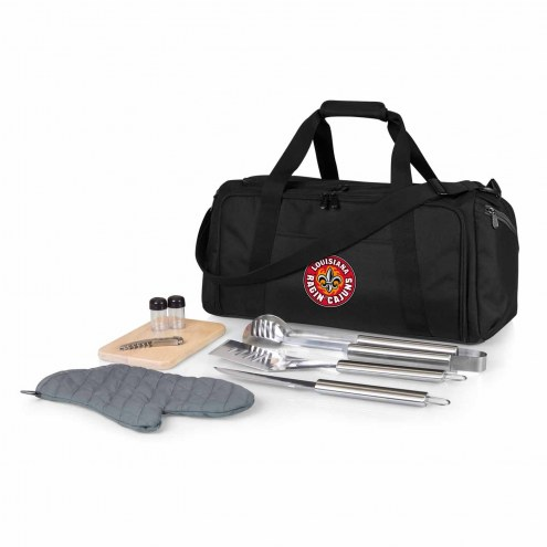 Louisiana Lafayette Ragin' Cajuns BBQ Kit Cooler