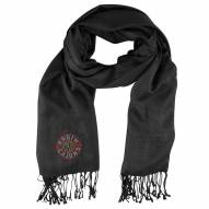 Louisiana Lafayette Ragin' Cajuns Black Pashi Fan Scarf