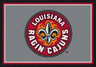 Louisiana Lafayette Ragin' Cajuns College Team Spirit Area Rug