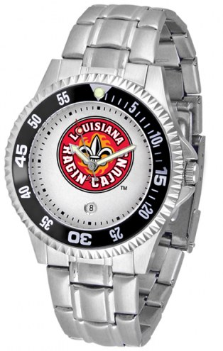 Louisiana Lafayette Ragin' Cajuns Competitor Steel Men's Watch