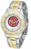 Louisiana Lafayette Ragin' Cajuns Competitor Two-Tone Men's Watch