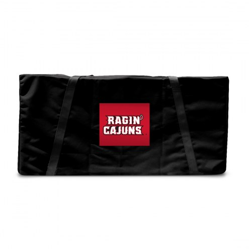 Louisiana Lafayette Ragin' Cajuns Cornhole Carrying Case