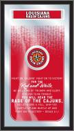 Louisiana Lafayette Ragin' Cajuns Fight Song Mirror