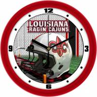 Louisiana Lafayette Ragin' Cajuns Football Helmet Wall Clock