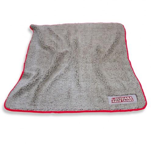 Louisiana Lafayette Ragin' Cajuns Frosty Fleece Blanket