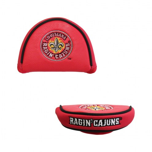 Louisiana Lafayette Ragin' Cajuns Golf Mallet Putter Cover