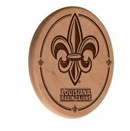 Louisiana Lafayette Ragin' Cajuns Laser Engraved Wood Sign