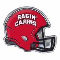Louisiana Lafayette Ragin' Cajuns Helmet Car Emblem