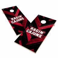Louisiana Lafayette Ragin' Cajuns Herringbone Cornhole Game Set
