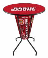 Louisiana Lafayette Ragin' Cajuns Indoor Lighted Pub Table