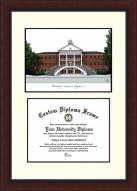 Louisiana Lafayette Ragin' Cajuns Legacy Scholar Diploma Frame