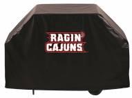 Louisiana Lafayette Ragin' Cajuns Logo Grill Cover