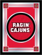 Louisiana Lafayette Ragin' Cajuns Logo Mirror