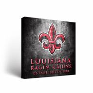 Louisiana Lafayette Ragin' Cajuns Museum Canvas Wall Art