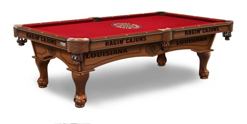 Louisiana Lafayette Ragin' Cajuns Pool Table