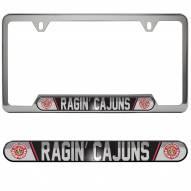 Louisiana Lafayette Ragin' Cajuns License Plate Frame