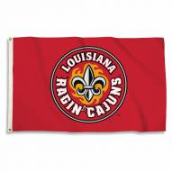 Louisiana Lafayette Ragin' Cajuns Red 3' x 5' Flag