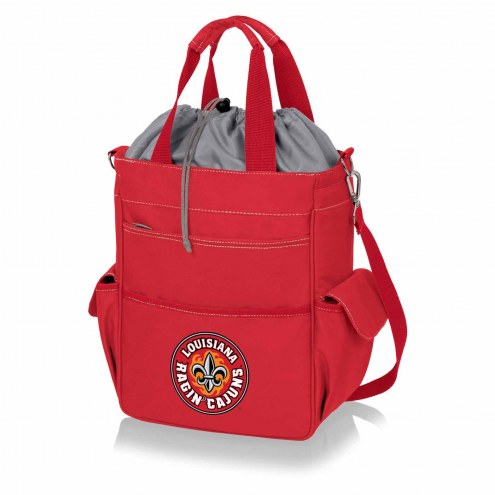 Louisiana Lafayette Ragin' Cajuns Red Activo Cooler Tote